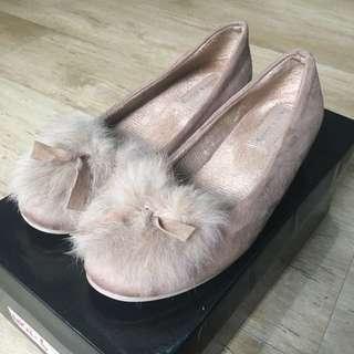 [PRELOVED] Sepatu beludru Korea size 38