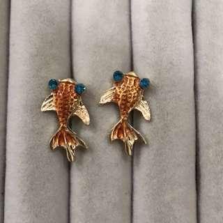 Fish earring