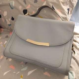 Cute Blue Satchel Handbag