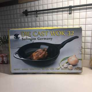 [NEW] Die Cast Wok 32 cm Made in Germany