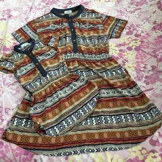 Ziya Mom & Daughter Dress