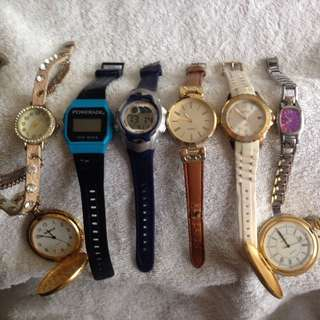 WATCHES from $3ea