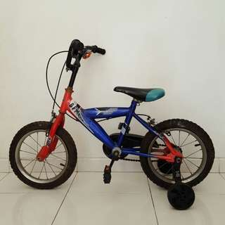 """Aleoca 14"""" child bicycle"""