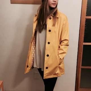 *REDUCED* Banana Republic Yellow Trench Coat- Brand New