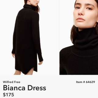 Aritzia Wilfred Free Bianca Dress