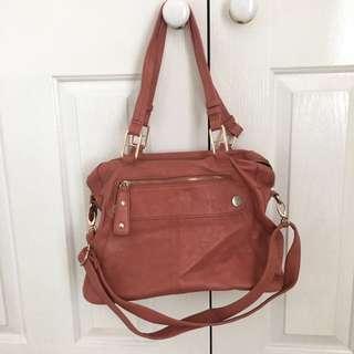 Burnt orange Mocha handbag