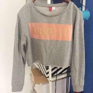 H&M Crop Top Sweater Jumper