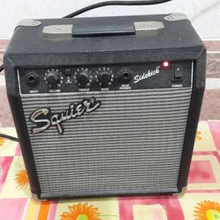 Squier sidekick amplifier