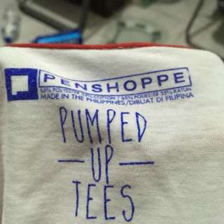 Penshoppe pump up t shirt