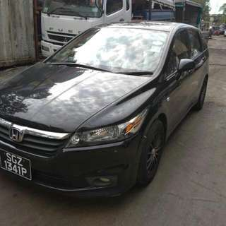 HONDA STREAM RN6 1.8(A) 2007 SUNROOF TIP TOP CONDTION (BEST PRICE IN TOWN) (SGPORE SCRAP CAR)