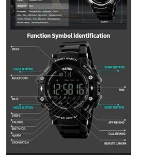 Skmei 1226 Brand Men Smart Watch Fashion Sport Watches