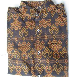 Baju Batik Lengan Pendek (L)