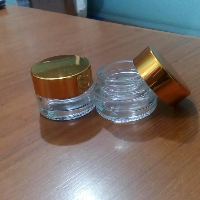 10 mL Travel Size Glass Jars