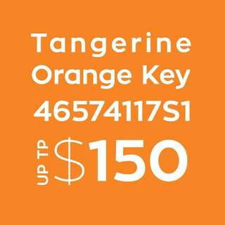 Get up to $150 from tangerine
