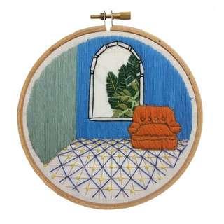 💐獨家!手作/刺繡/繡畫小物,可掛牆裝飾💐