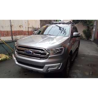 FORD EVEREST TREND 2WD 2.2 DIESEL AUTOMATIC 2016