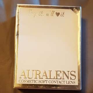 Contact Lense》Brand New AURALENS Lady Dior Brown 1.50