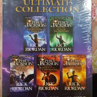 Percy jackson boxset