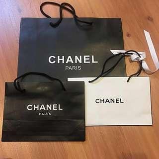 CHANEL paper bag