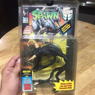 Mcfarlane Spawn Special Edition Violator with Comic book