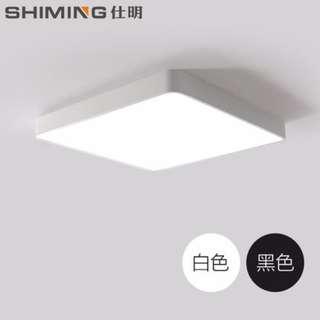 [New] Modern LED Ceiling Lamp 16W 30x30x8cm White 6000K