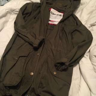 Size SM garage fall jacket