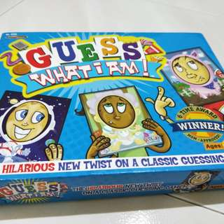 Kids game: Guess what I am