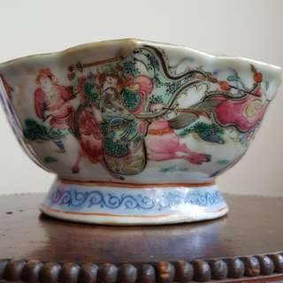 Old Chinese bowl