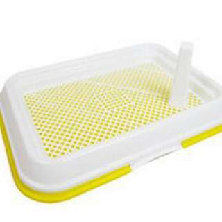 Free Doorstep Delivery Durable Pet Pee Tray for Small Pets 47cm X 34cm