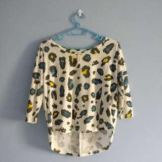 Kitschen Leopard Printed Shirt