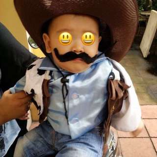 Cowboy 3 Pc Costume