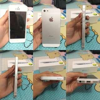 IPHONE 5 32GB WHITE ORIGINAL (second)