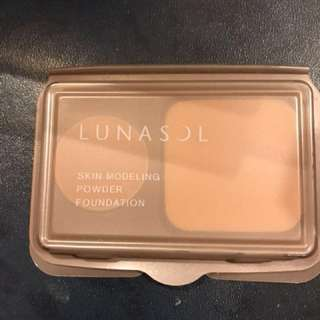 Lunasol skin Modeling powder foundation sample /YO02/OC02 per one