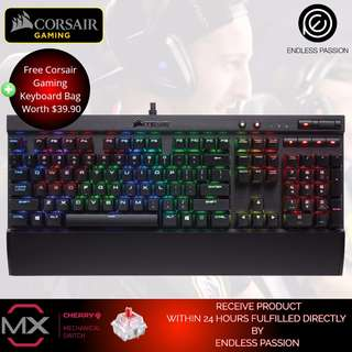 Corsair K70 RGB Mechanical Gaming Keyboard ( Cherry MX RGB Red / Brown / Speed ) * Free Home Delivery