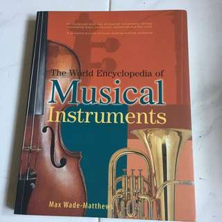 World encyclopedia of music instruments