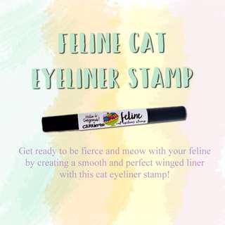 Eyeliner - cat eye stamp
