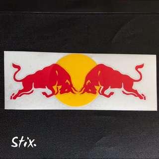 Redbull Vinyl Cut Sticker