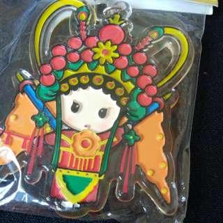Nice Cute Chinese Opera Keychain