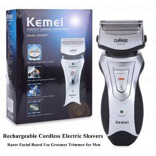 Kemei Rechargeable Electric Shavers Razor Groomer Trimmer
