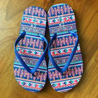 Used Once Springfield Womens Flip-flops