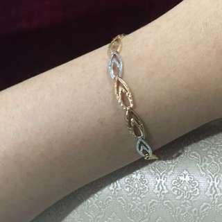 Mixed Gold bracelet