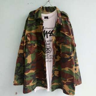Outer Camouflage Camo / Army / Doreng semi Parka