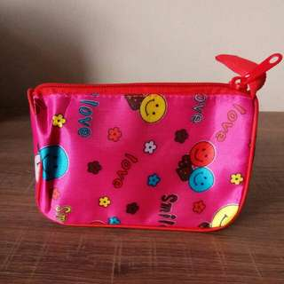 Mini Pouch Pink Smile