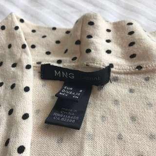 MNG Casual Cream Cardigan