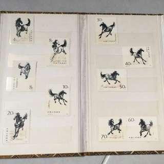 1978,79 China Stamps (徐悲鸿、齐白石)