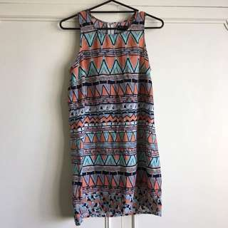 Dotti Summer Dress: size 12