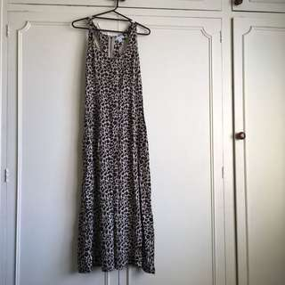 Cotton On Maxi Dress - leopard: size M