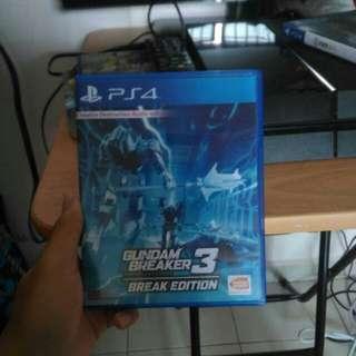 Gundam breaker three break edition