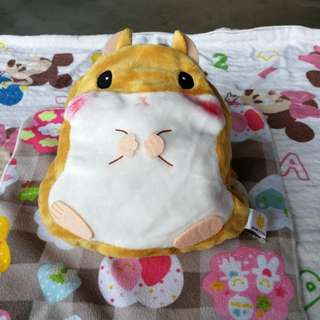 🐹 So Cute Brown Hamster Drawstring Pouch