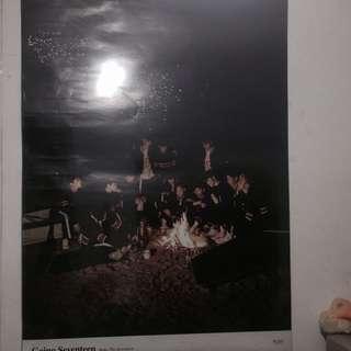 ONHAND Official Going Seventeen Poster (Make the Seventeen)
